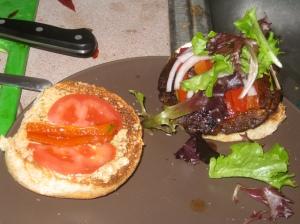 om nom nom the burger